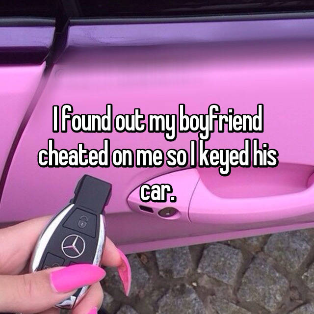 20 Confessions From People Who Keyed Cars & Got Away With It