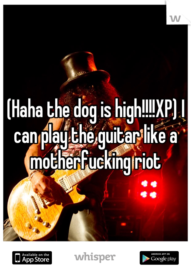 I Can Play The Guitar Like A Mother Fucking
