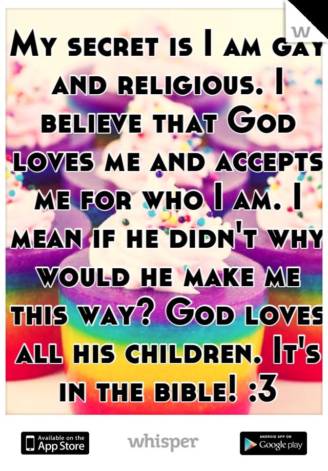 Make me believe i am gay