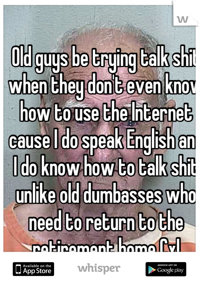 How to talk to an older guy