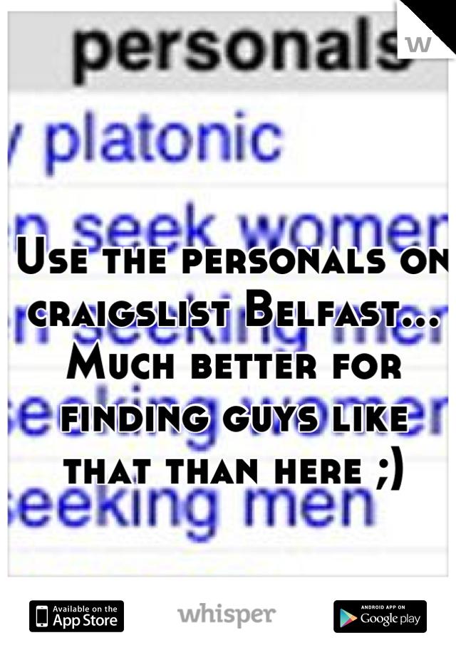 Belfast personals