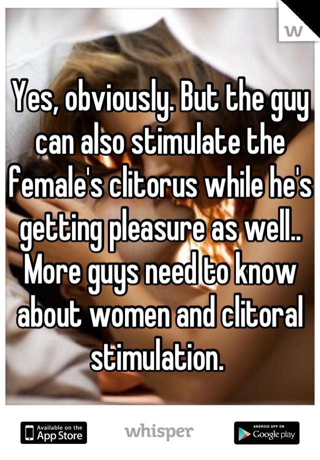 Stimulate clitorus