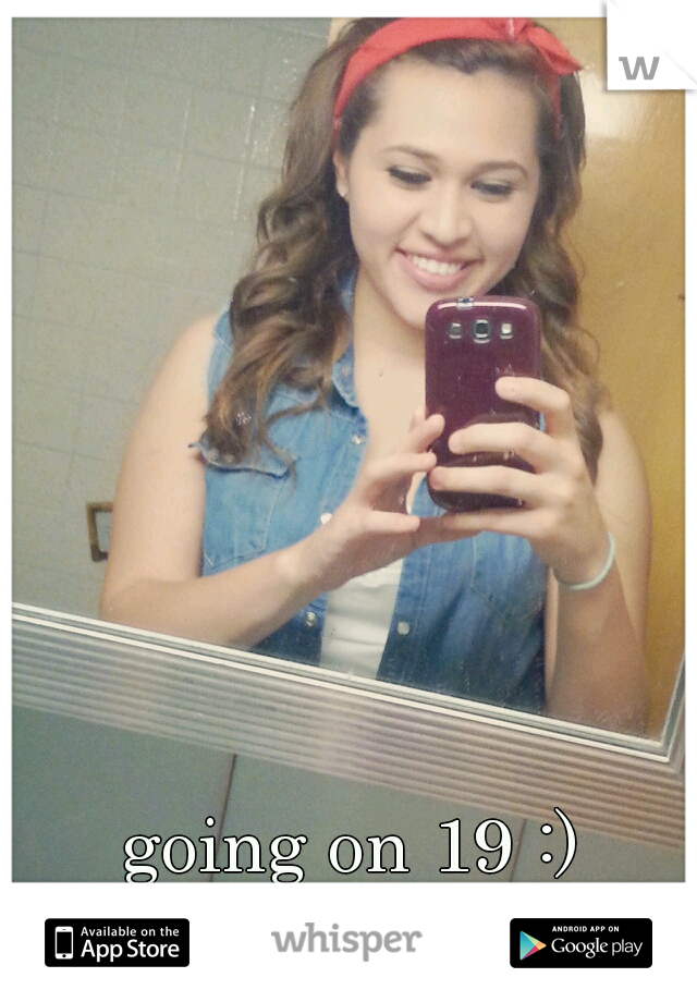 going on 19 :)