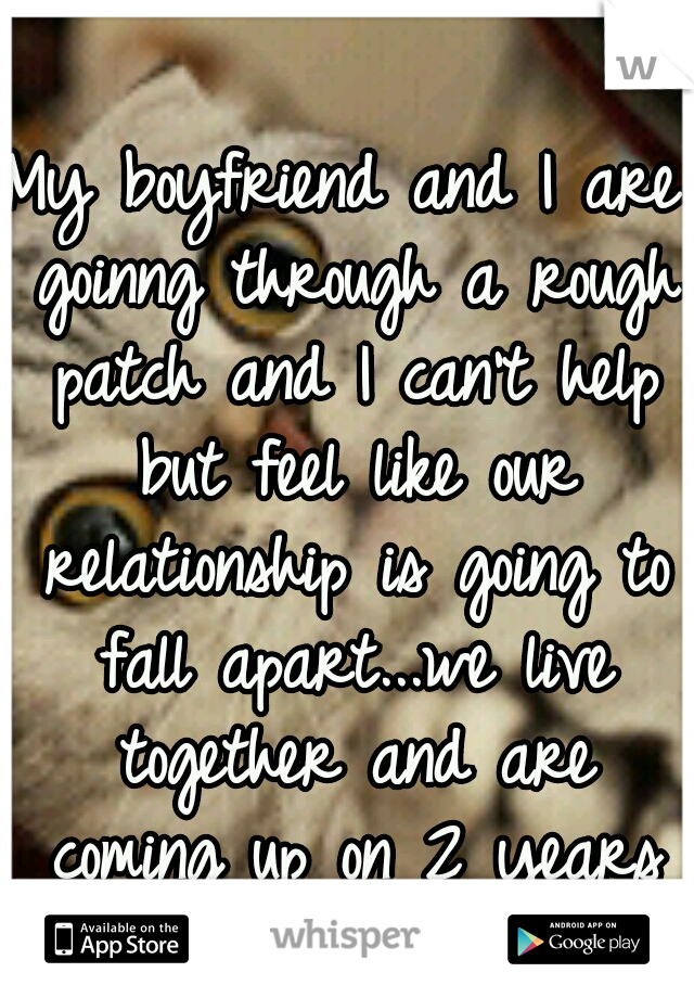 how to get through rough patch in relationship