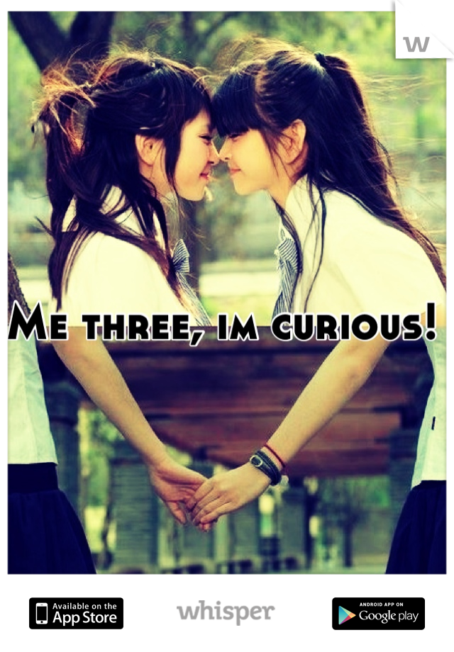 Me three, im curious!