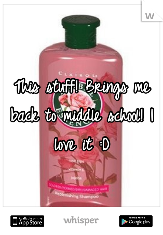 This stuff! Brings me back to middle school! I love it :D