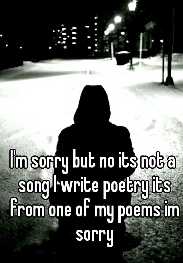 I'm sorry but no its not a song I write poetry its from one of my poems