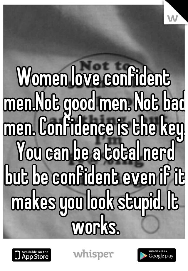 Images - Do women like confidence