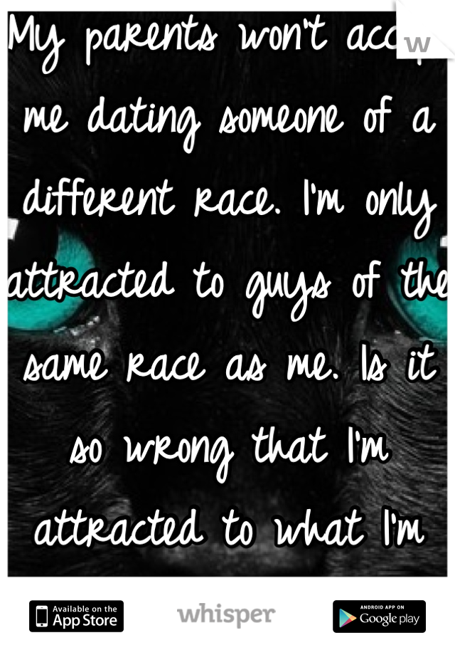 A Different Dating Someone Race Of