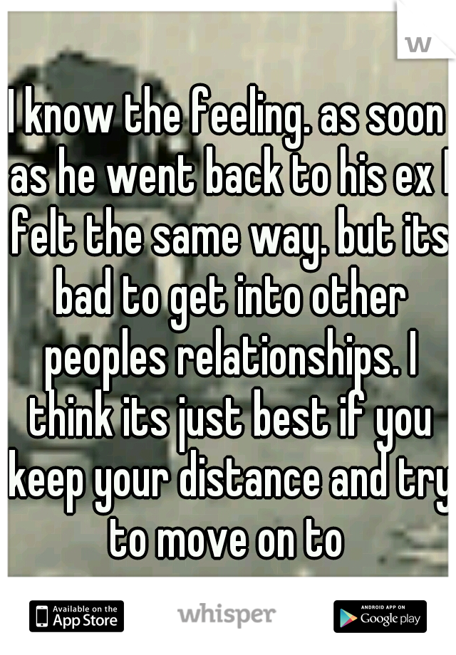 He went back to his ex | 7 Signs He Wants to Go Back to His Ex