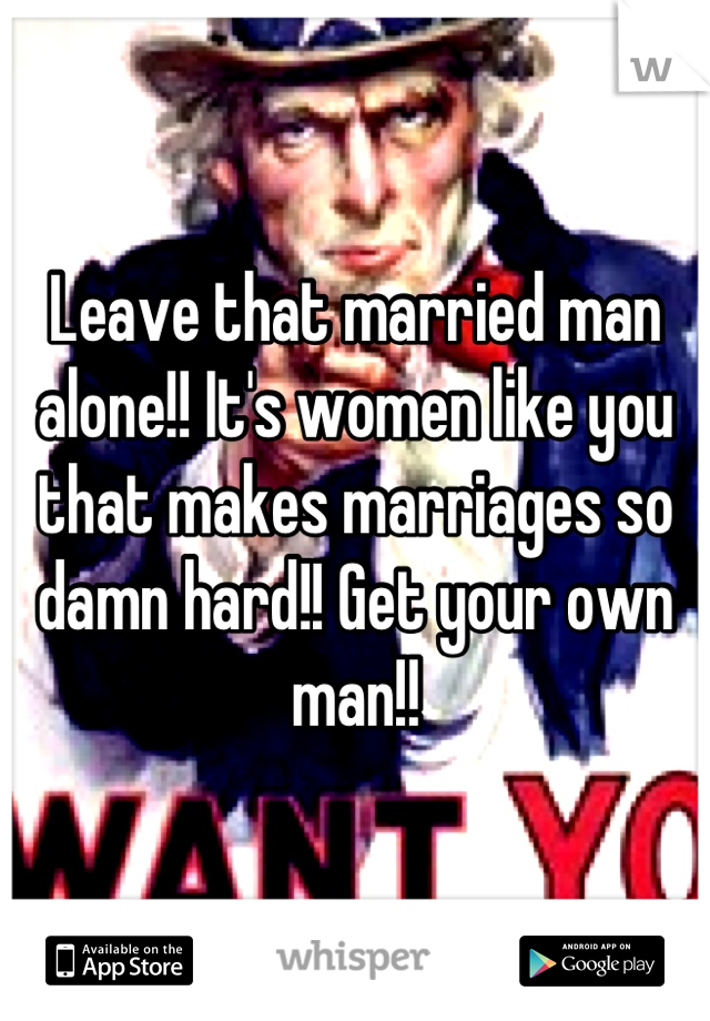 women who like married men