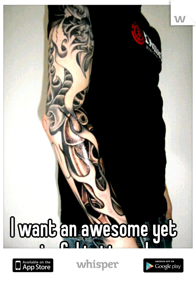 I want an awesome yet meaningful tattoo sleeve.