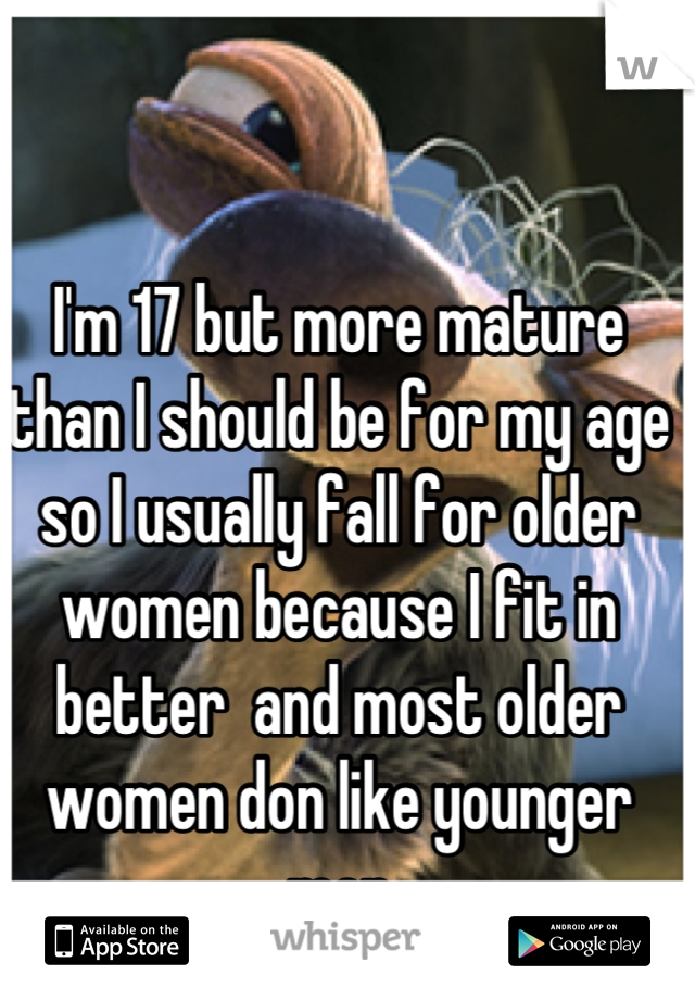 Are woman more mature than men