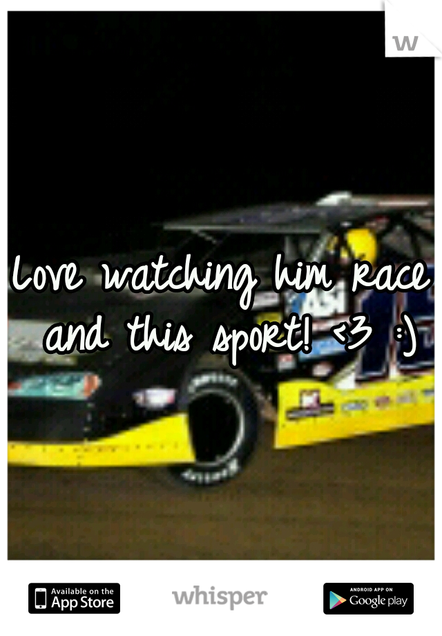 Love watching him race and this sport! <3 :)