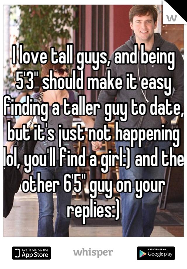 tall boys dating app