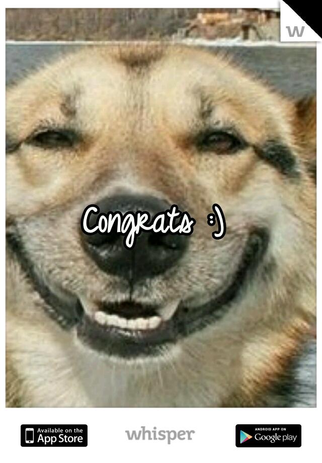 Congrats :)