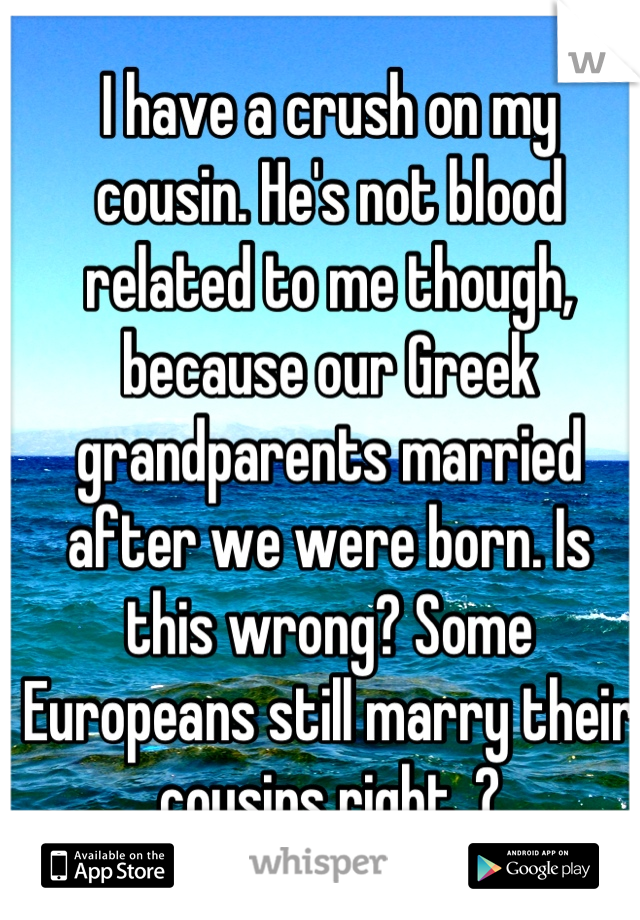Related not are when cousins Genealogical relationships