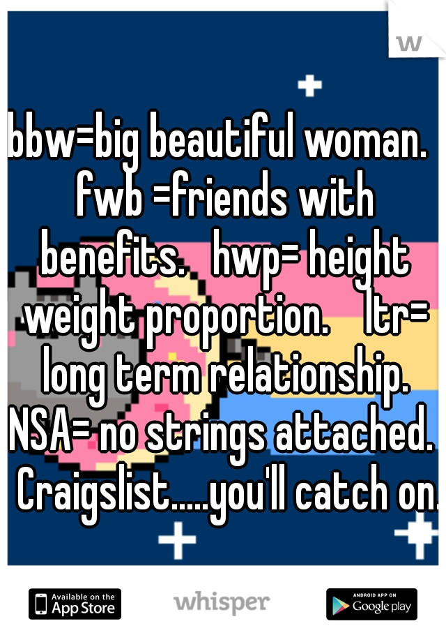 Long term friends with benefits