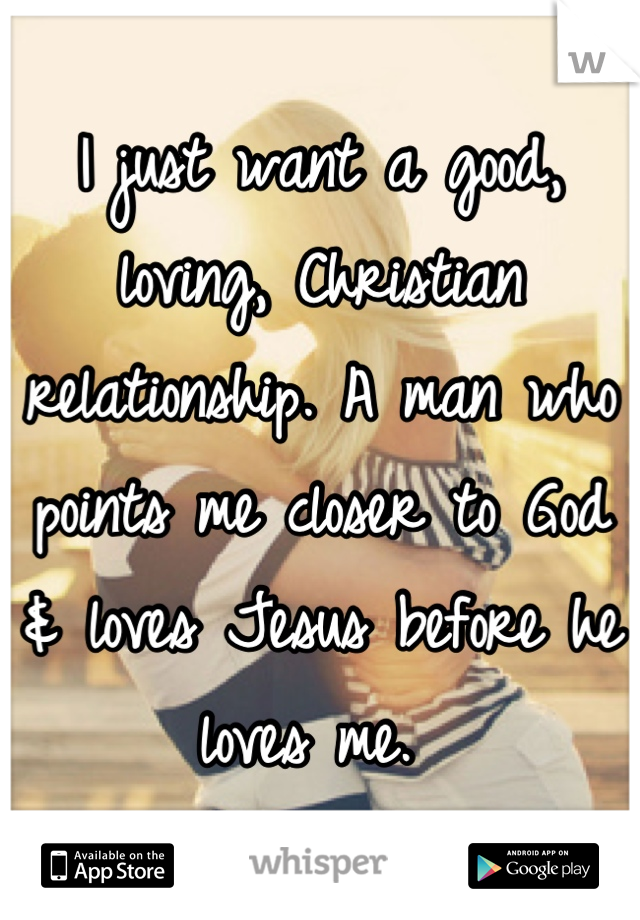 What is christian relationship