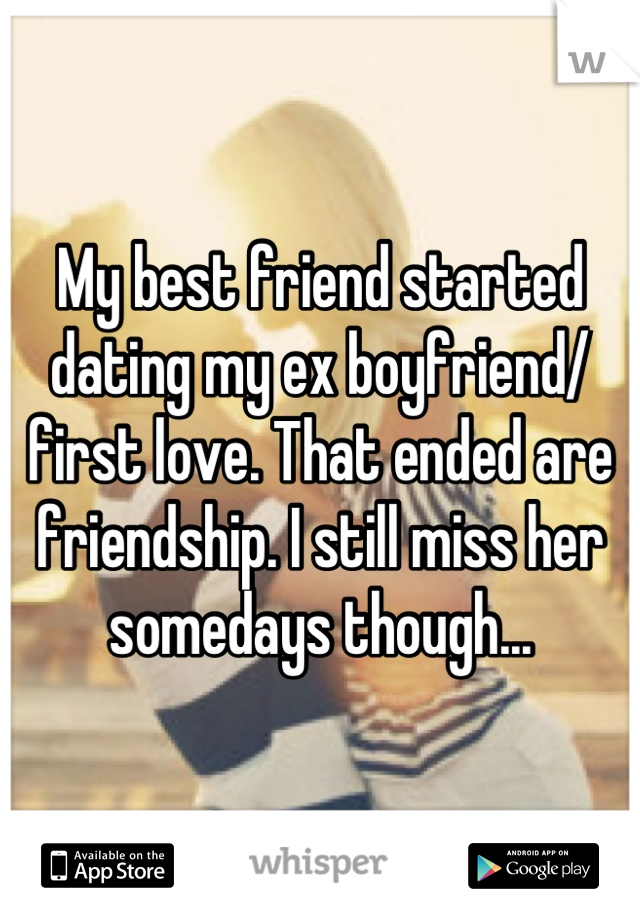 How to deal with my ex dating my friend