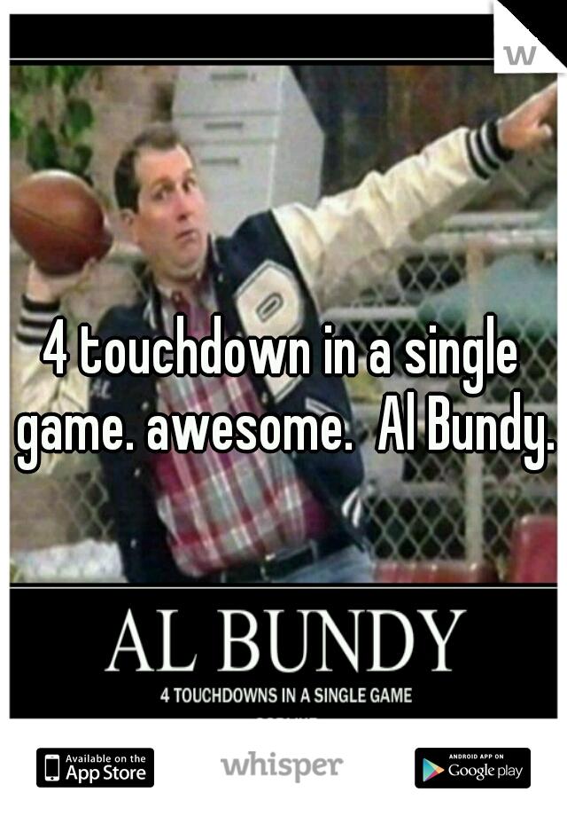 4 Touchdowns In Einem Spiel