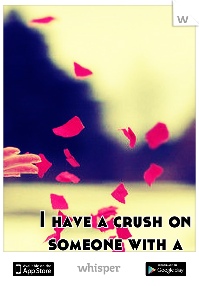 I have a crush on someone with a girlfriend...
