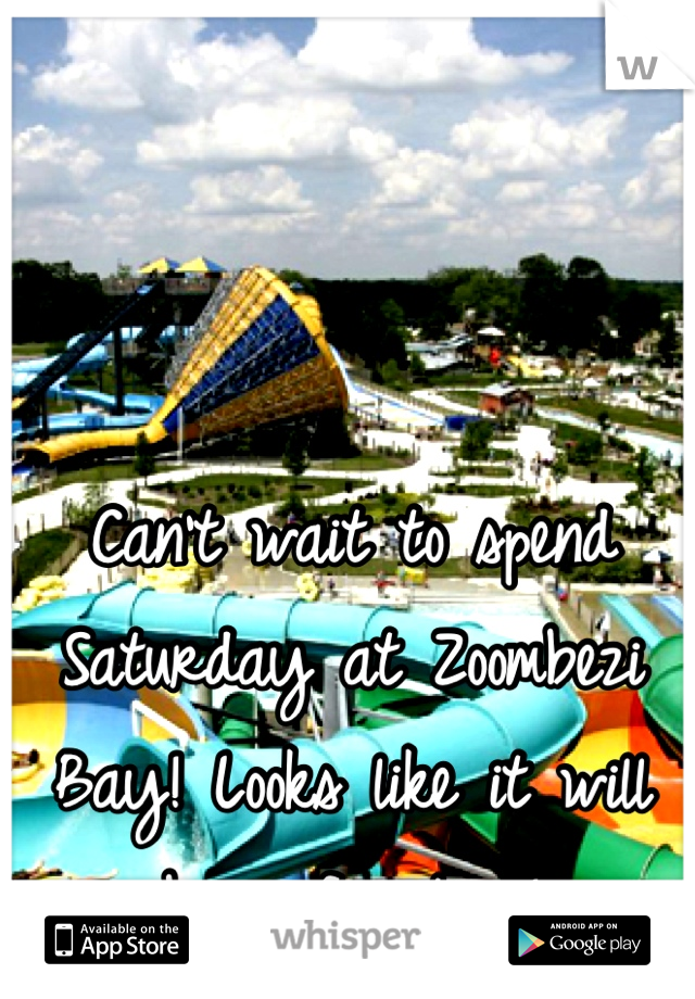 Can't wait to spend Saturday at Zoombezi Bay! Looks like it will be a fun time!