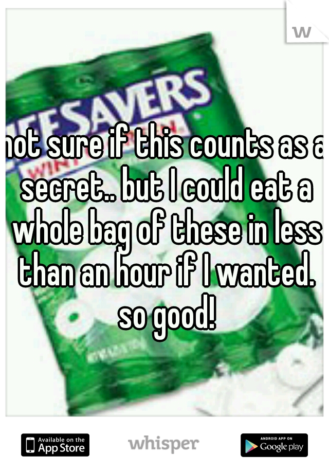 not sure if this counts as a secret.. but I could eat a whole bag of these in less than an hour if I wanted. so good!