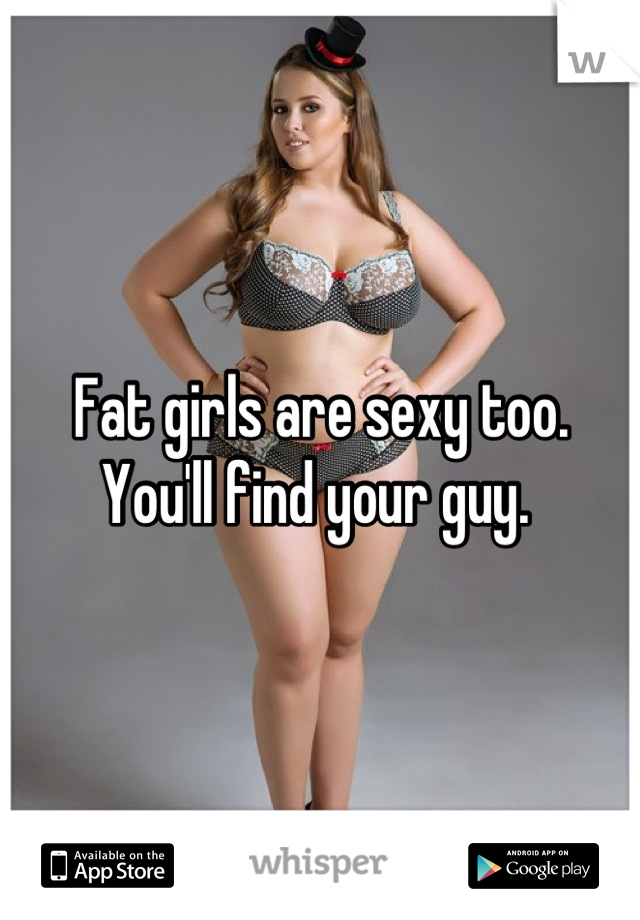 Sexy pictures of fat girls