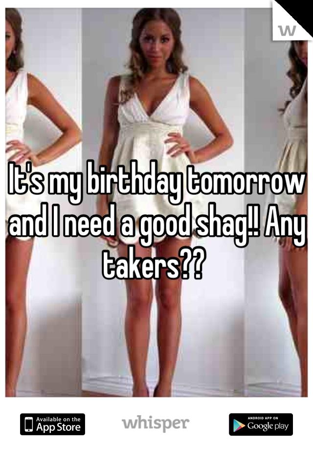 Need a shag com