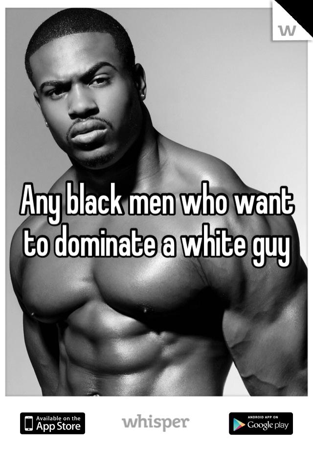 Black male domination