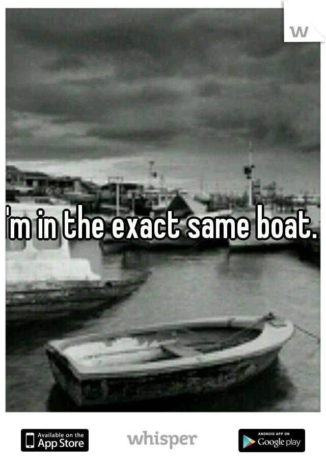 I'm in the exact same boat.