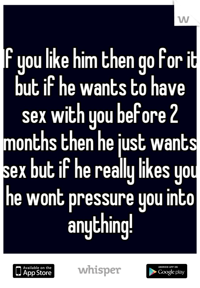 How Do I Know If He Just Wants Sex