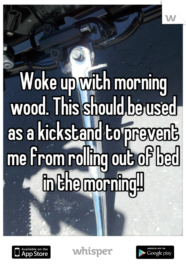 How to prevent morning wood