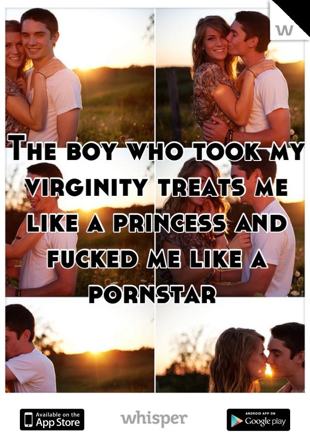 The boy who took my virginity treats me like a princess and fucked me like a pornstar