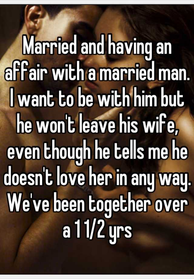 Rules of having an affair with a married man