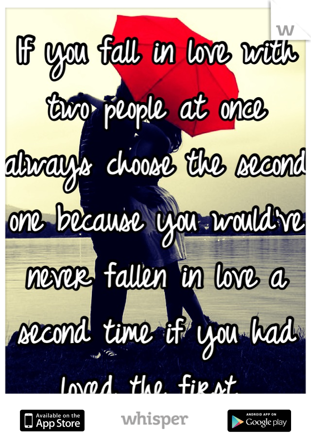 when two people fall in love