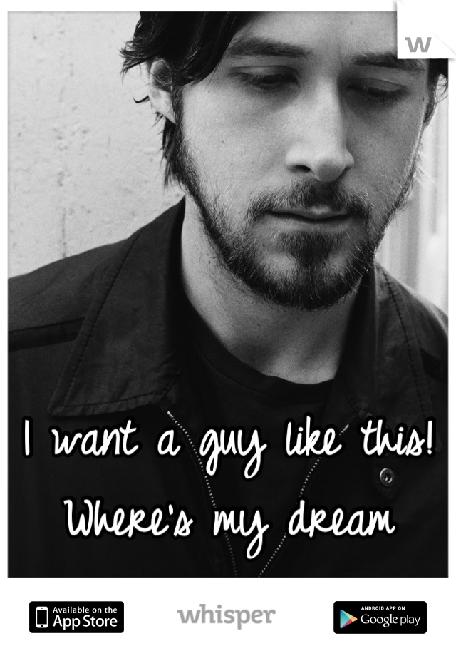 I want a guy like this! Where's my dream man?!
