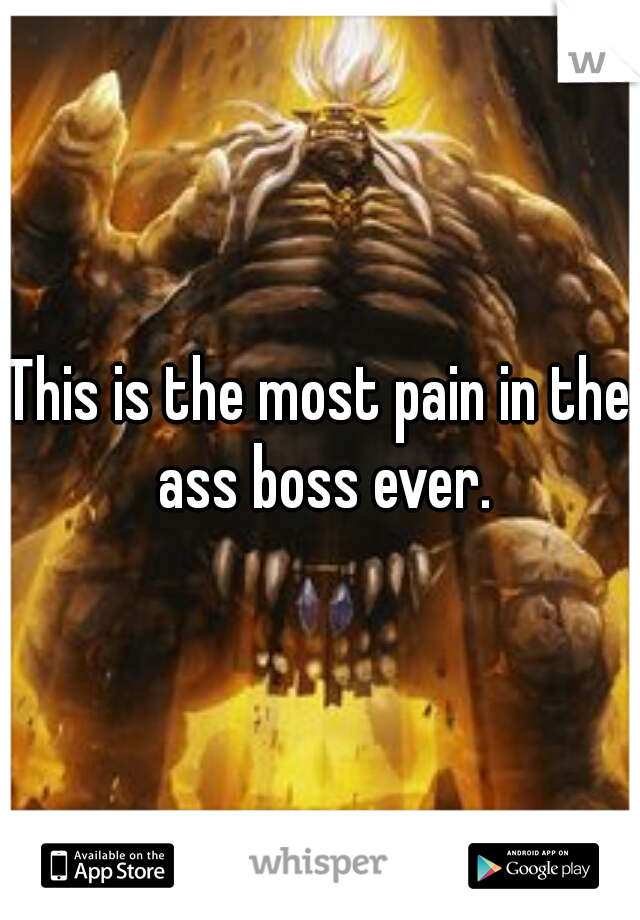 This is the most pain in the ass boss ever.