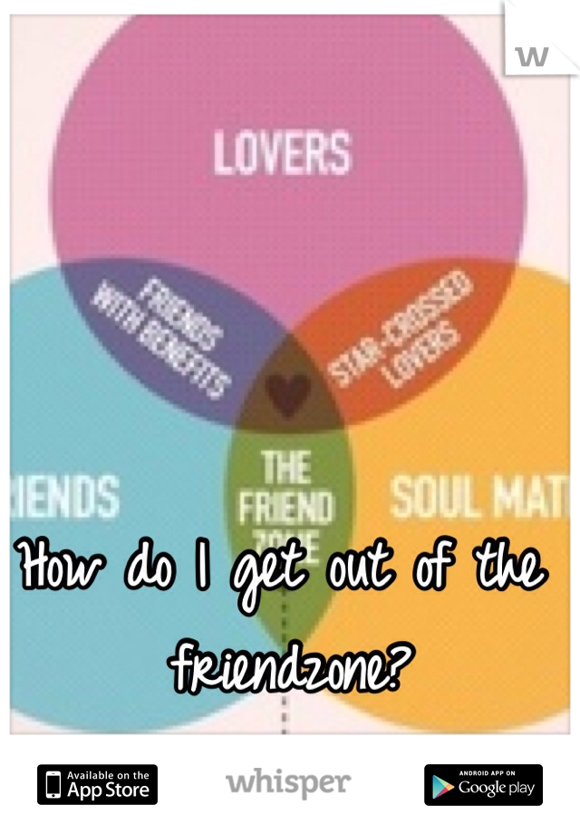How do I get out of the friendzone?