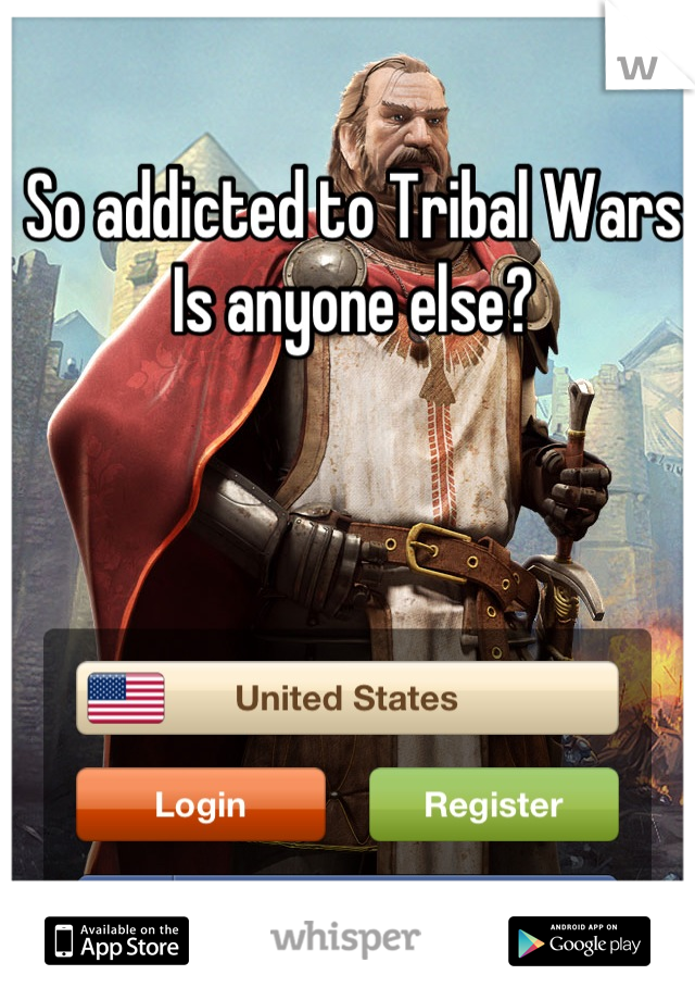 So addicted to Tribal Wars  Is anyone else?