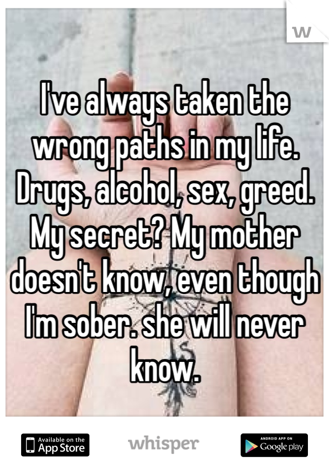 She will never know sex
