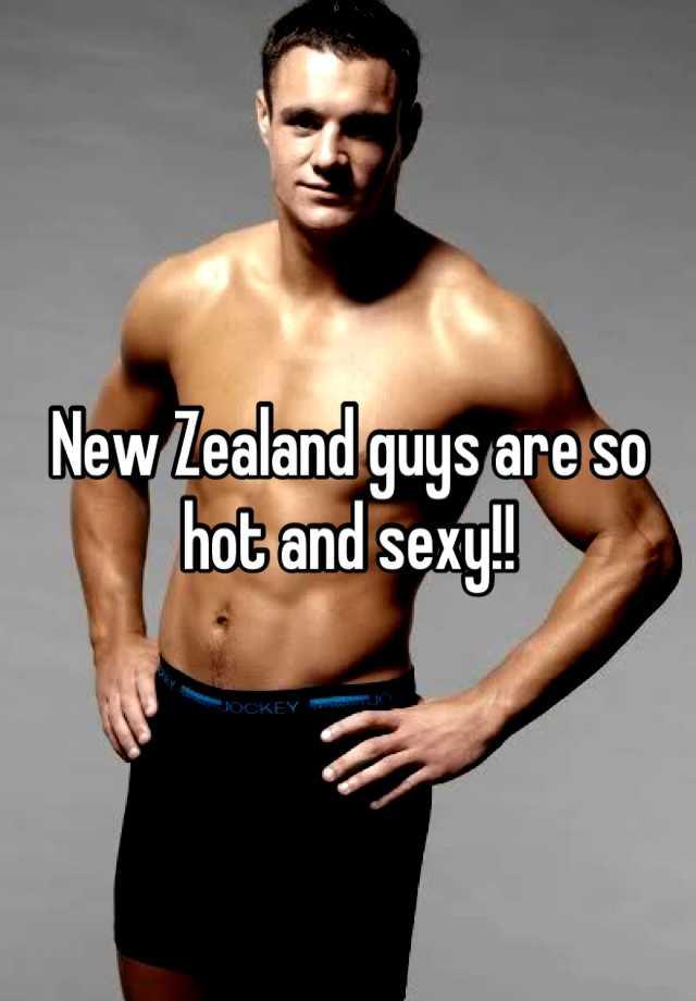 Hot new zealand guys