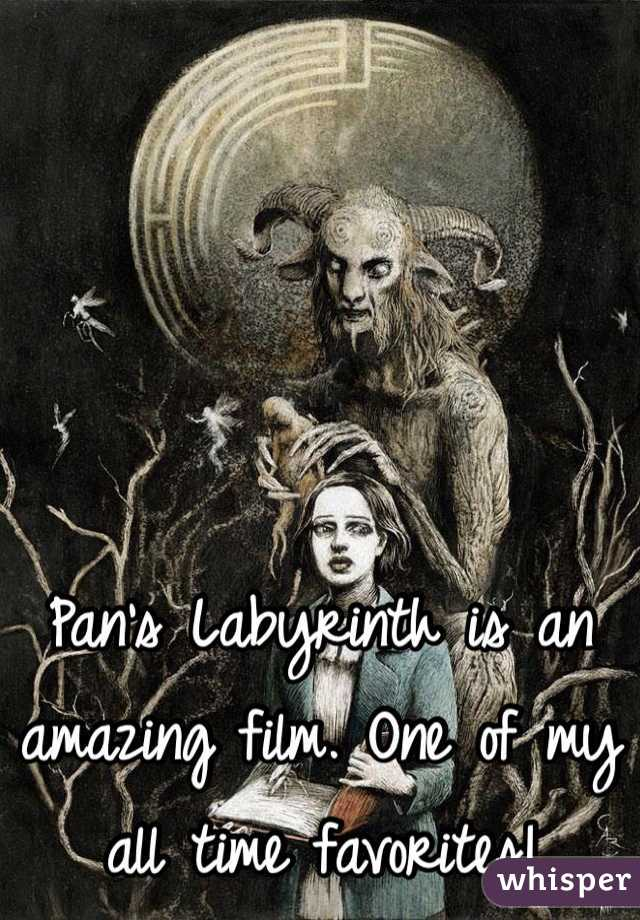 Pan's Labyrinth is an amazing film. One of my all time favorites!