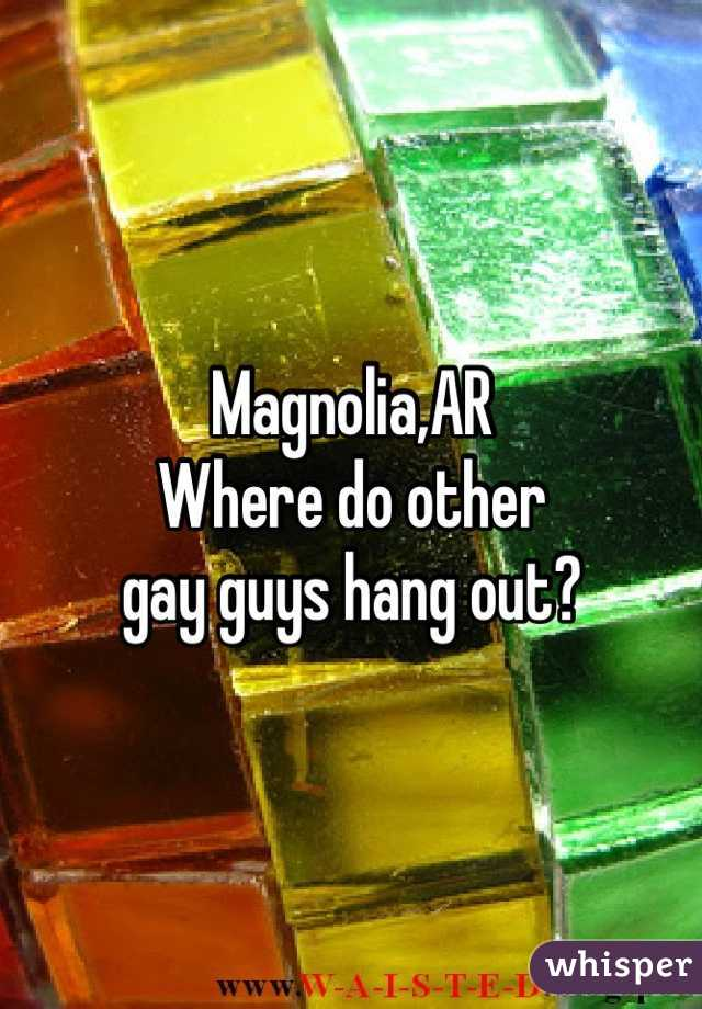 Magnolia,AR Where do other gay guys hang out?