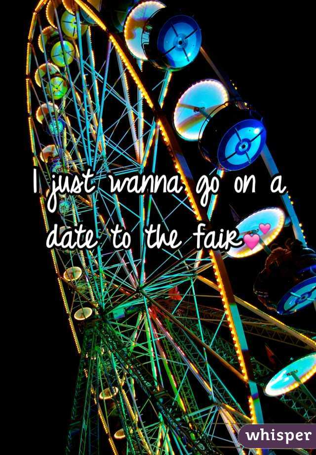 I just wanna go on a date to the fair💕