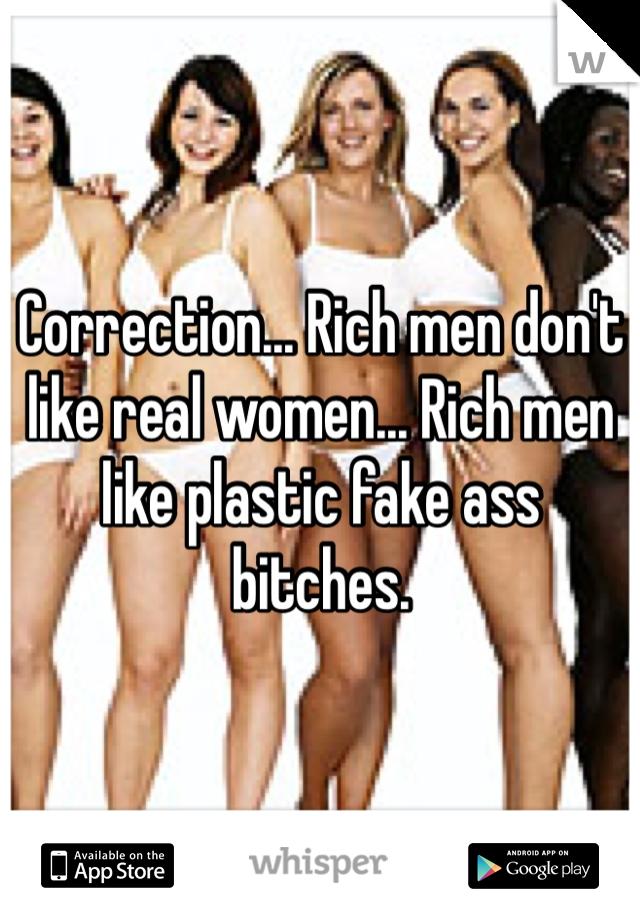 Do women like rich men