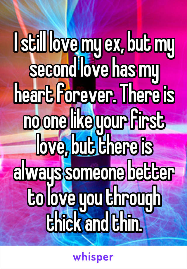 your second love