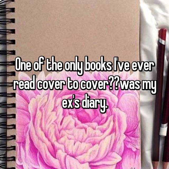 One of the only books I've ever read cover to cover