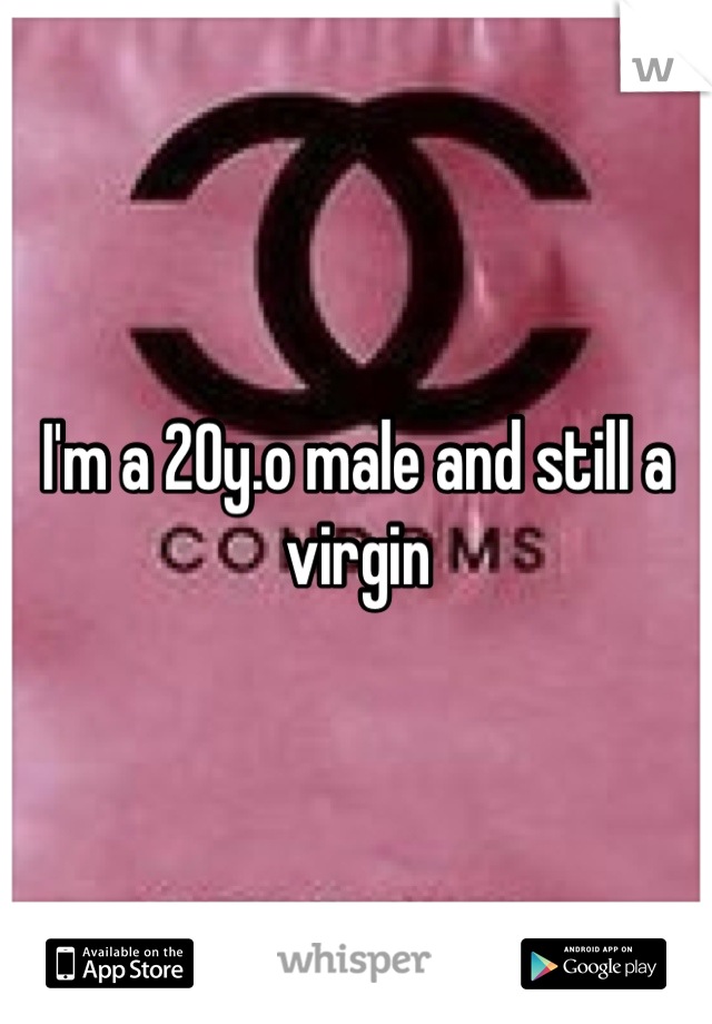 I'm a 20y.o male and still a virgin